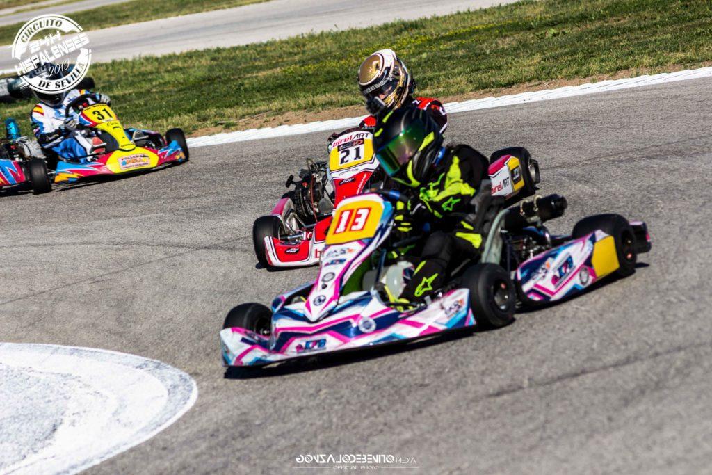 cartel prototipos karts de competicion 4t