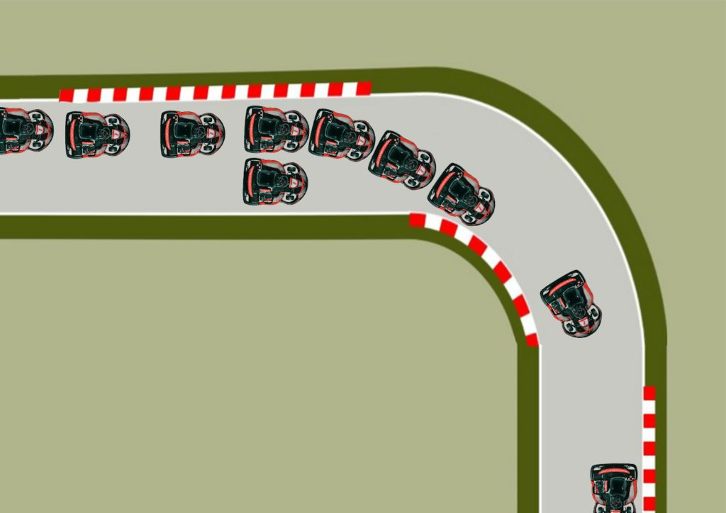efecto multiplicativo técnicas de conducción