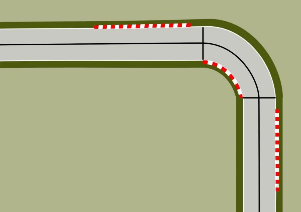 curva geométrica técnicas de conducción